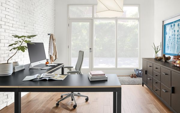 L shaped home office desk Black Parsons Lshaped Desk Home Office Cookwithscott Parsons Lshaped Desk Home Office Room Board