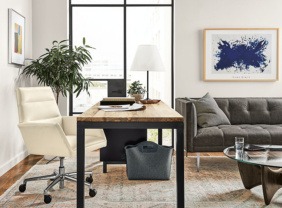Parsons Desk With Tenley Office Chair