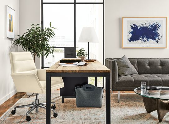 Genial Parsons Desk With Tenley Office Chair