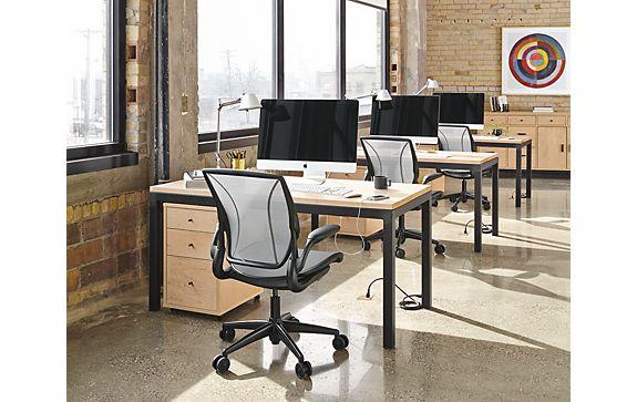 Parsons Desk Open Office Space