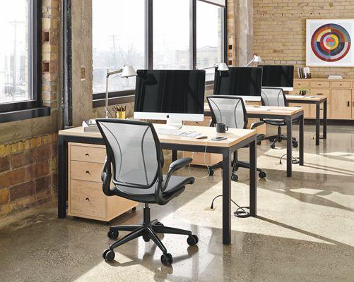 Good Parsons Desk Open Office Space