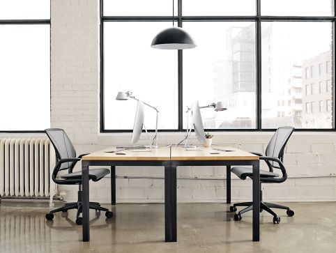 Parsons Desk Shared Office Space Modern Office Furniture