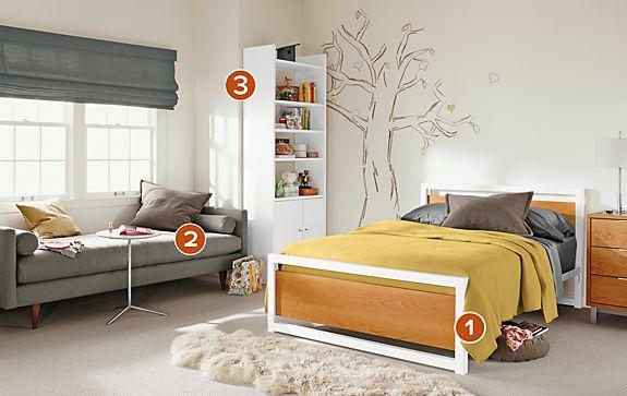 Piper Wood Panel Bedroom