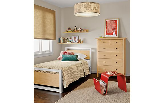 Piper Bed with Sherwood Dresser