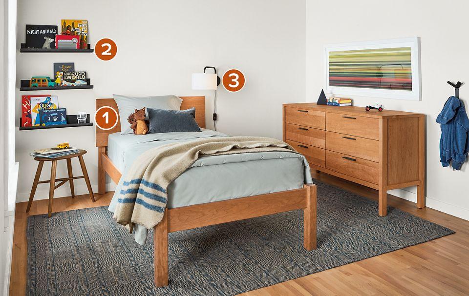 Pogo Kids Bedroom   Room & Board