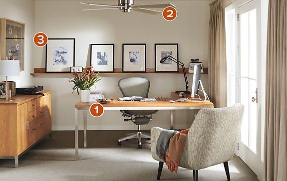 Portica Desk Amp Linear Cabinet Office Modern Office