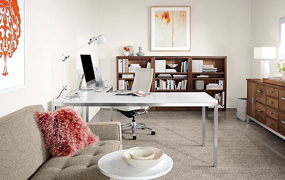 Portica L-Shaped Desk with Choral Office Chair