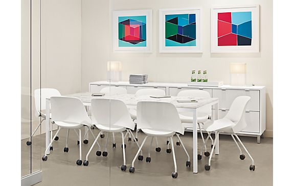 Pratt Table and Trea Chairs in Conference Room