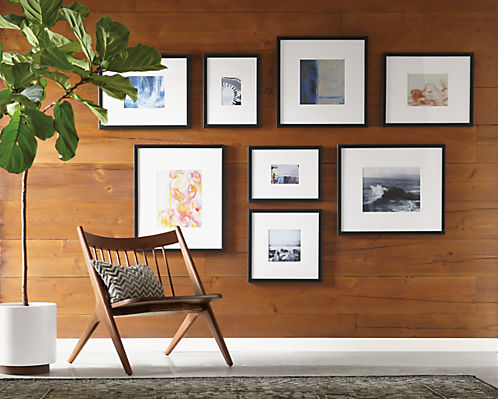 Profile Modern Picture Frames In Black Modern Picture Frames