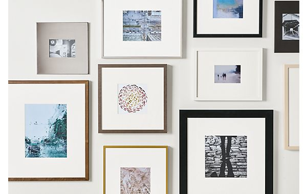 Profile Frame Gallery Wall - Frame Wall Ideas - Room & Board