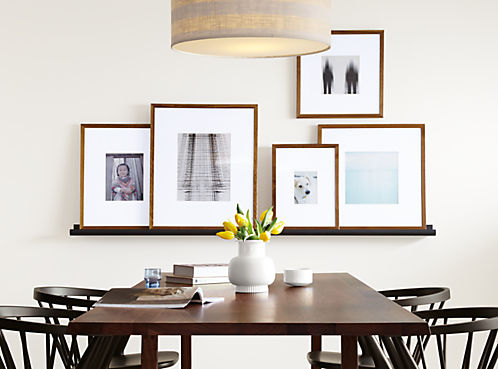 Profile Modern Picture Frames In Walnut Modern Picture Frames