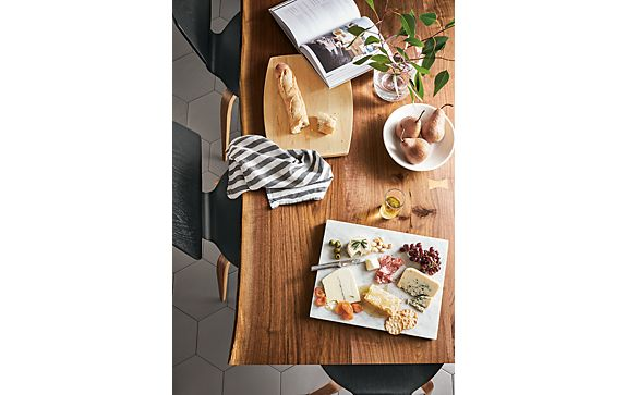 Chilton Dining Table & Kitchen Serving Boards