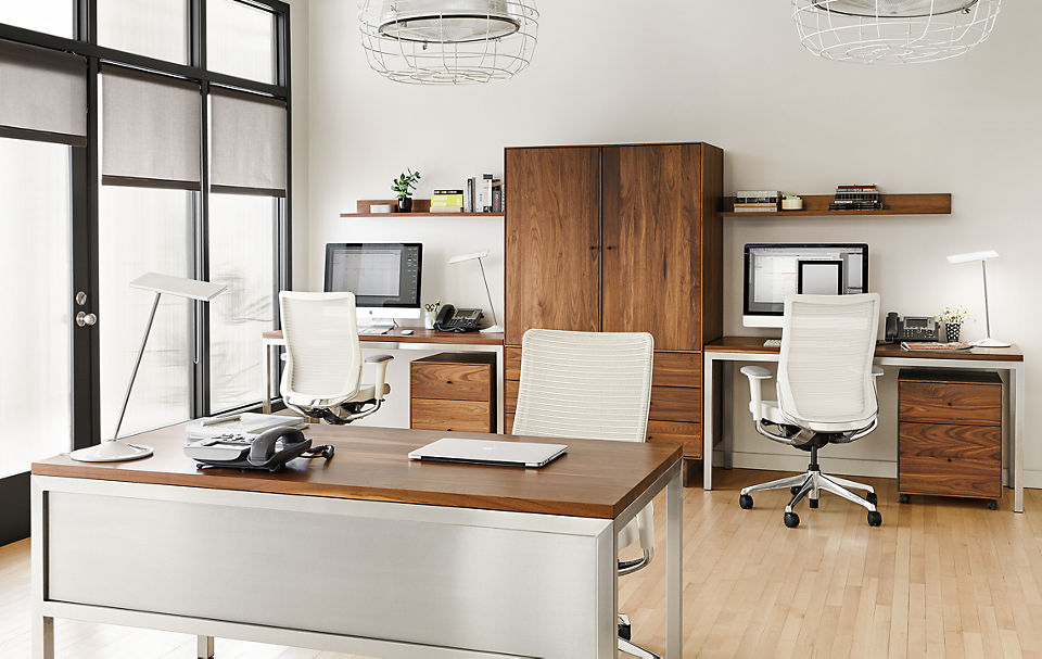 Office Design Ideas - Business Interiors - Room & Board