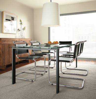 Great Rand Custom Table By The Inch In Natural Steel
