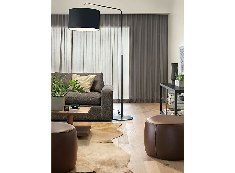 Detail of Rayne floor lamp