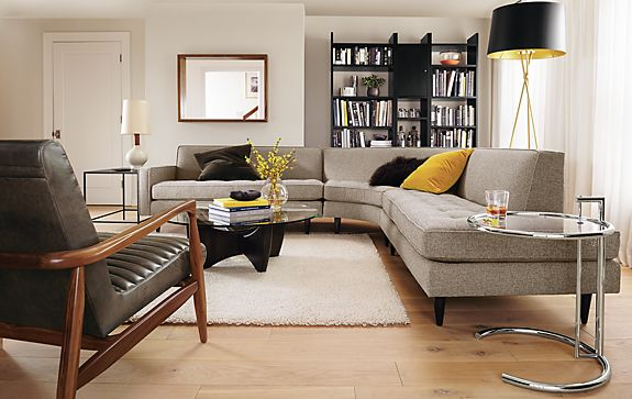Reese Sectional in Tatum Fabric