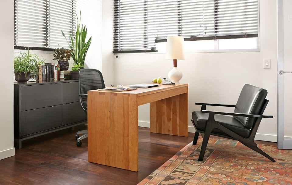 Detail of Rowan desk