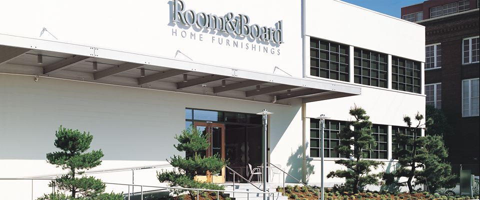 Room   Board San Francisco is a light filled modern furniture showroom in  the SoMa. San Francisco   Store Locations   Room   Board