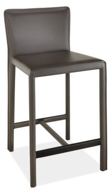 Superb Sava Leather Counter Bar Stools Creativecarmelina Interior Chair Design Creativecarmelinacom