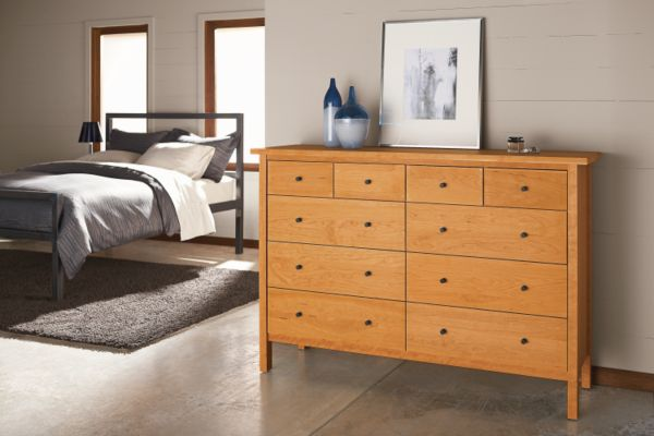 Sherwood Wood Dressers   Modern Dressers   Modern Bedroom Furniture   Room  U0026 Board