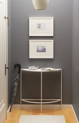 Entryway with Slim Console Table Modern Entryway Furniture