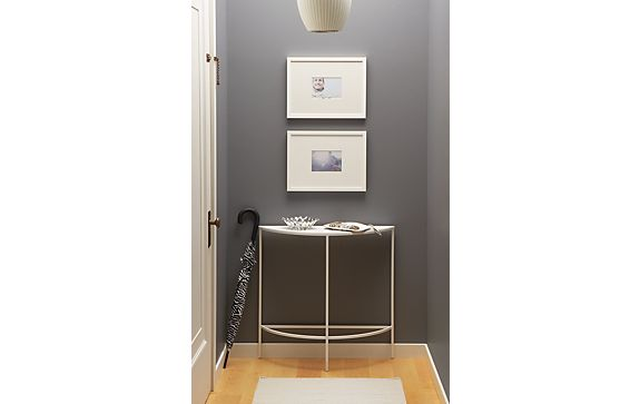 Entryway with Slim Console Table