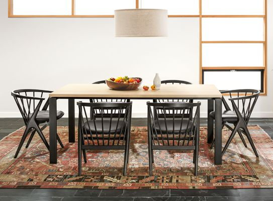 Rand Dining Table With Soren Chairs