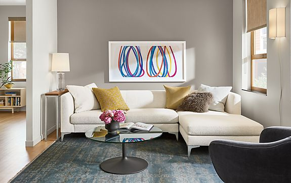 Living Room Chaise. Share This Room  Sterling Sofa with Chaise Living Modern