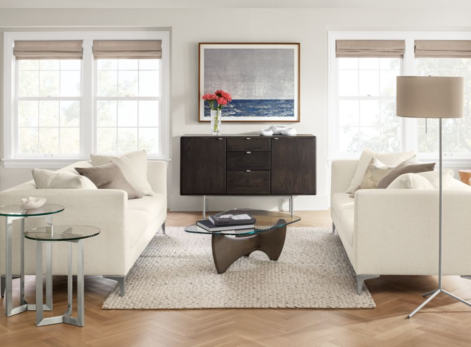 Detail of Sterling 86-inch sofa