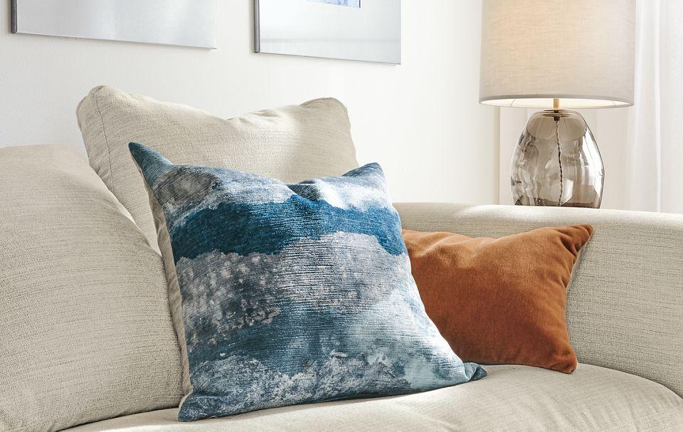 Detail of Storm pillow