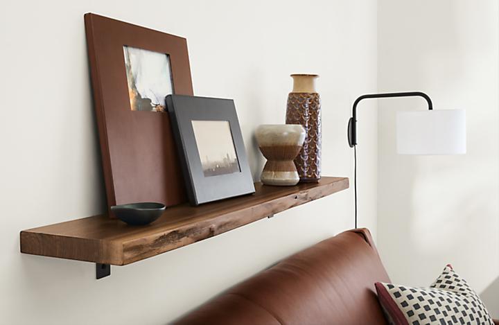 Detail of Stowe wall shelf