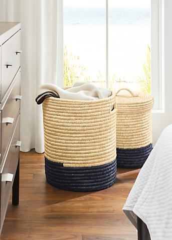 Detail of Surjo lidded basket