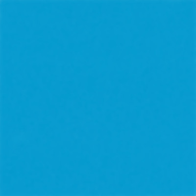 Blue recycled HDPE