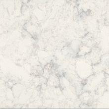 Marbled white quartz composite