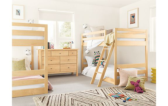 Waverly Mini Bunk Beds in Maple