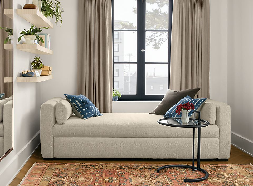 Whitman 86 inch pop-up platform sleeper sofa