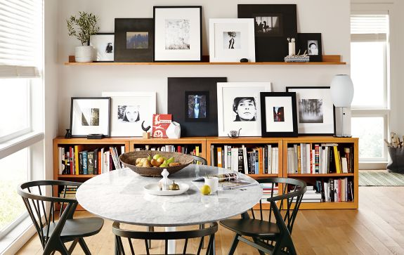 Wall Collage Picture Frames frame wall collage on mantel wall shelves - frame wall ideas