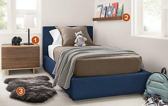 Wyatt Storage Bed with Ashby Kids Room