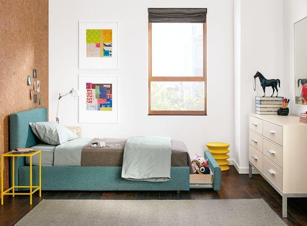 Wyatt Storage Bed With Alden Dresser Modern Kids