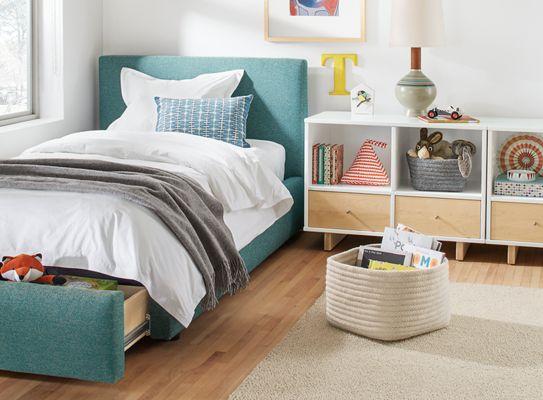 Wyatt Bed With Storage Drawer In Kids