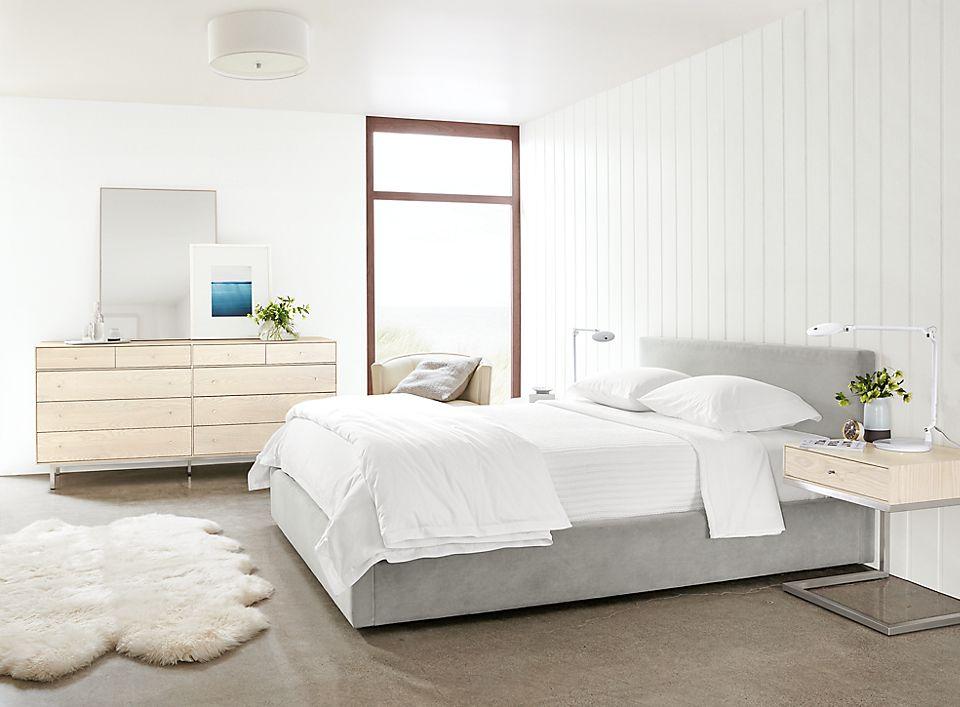 Wyatt queen bed and Hudson bedroom set