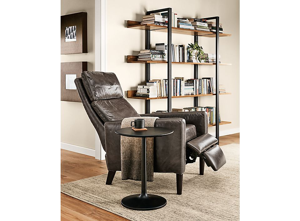 Detail of Wynton recliner