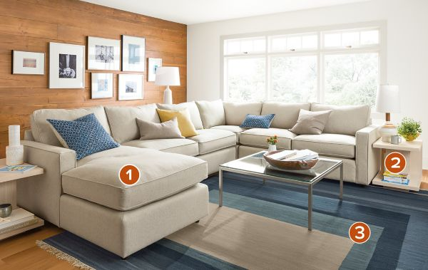 Share This Room : room and board sectional - Sectionals, Sofas & Couches