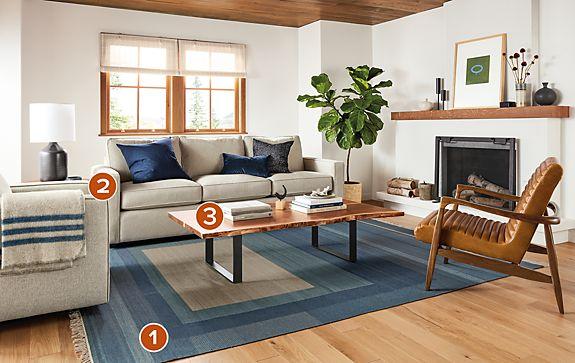 Grady Rug Living Room