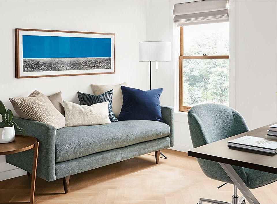office with jasper studio sofa room board. Black Bedroom Furniture Sets. Home Design Ideas