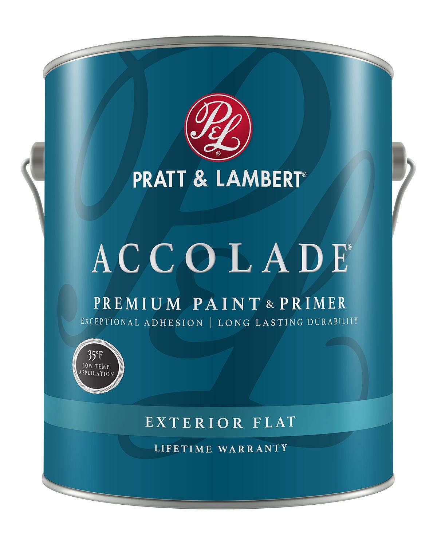 Pratt & Lambert Accolade® Exterior Premium Paint & Primer
