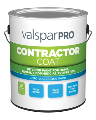 Contractor Coat Ceiling Paint Valspar