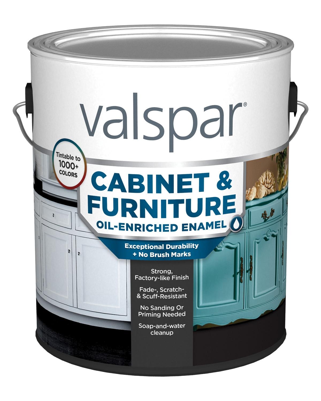 Cabinet Furniture Oil Enriched Enamel Valspar Interior Paint