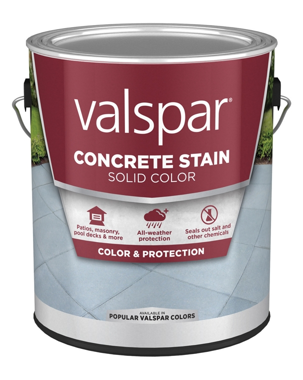 Valspar Concrete Stain Solid Color 1 Gallon Can