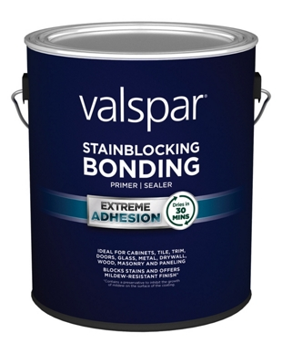 Valspar Stainblocking Bonding Primer and Sealer, 1 Gallon Can